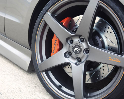 汽车轮毂刮痕 六步轻松解决