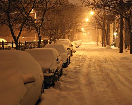 纠正冬季汽车错误保养