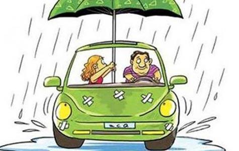 雨后汽车保养应避免四大隐患